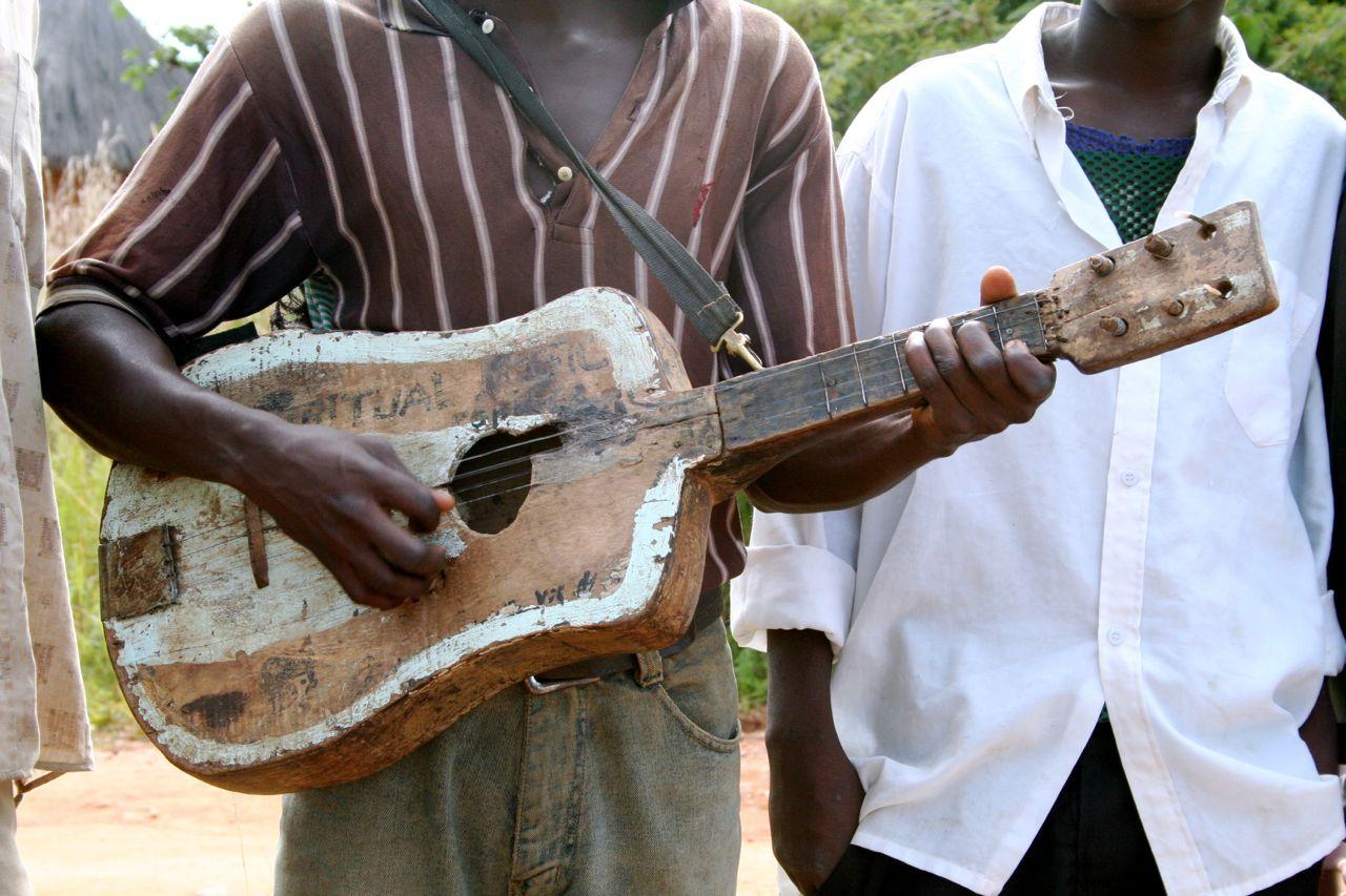 guitar in zambia