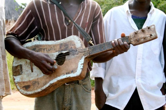 guitar in zambia