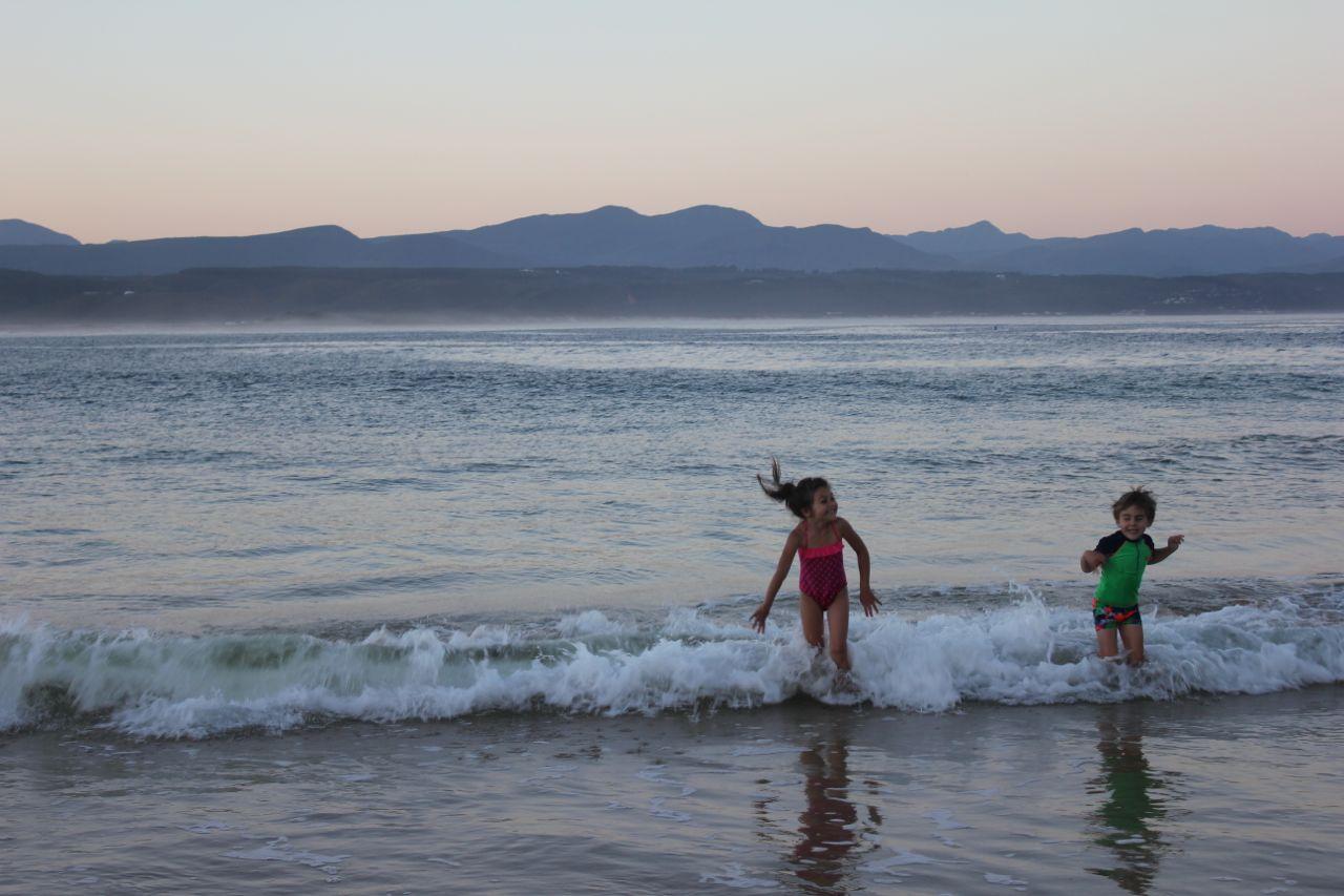 Beach time at Plettenberg Bay...
