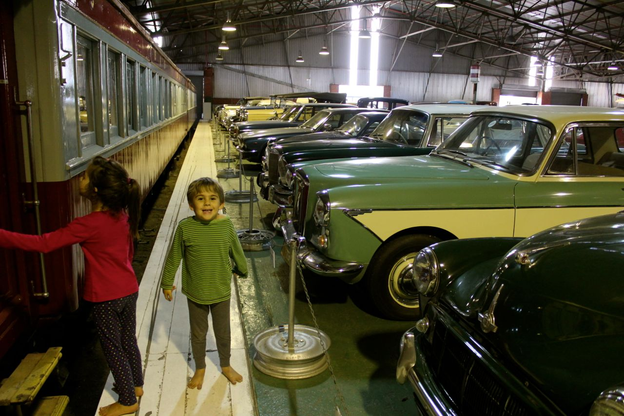 Lots and lots of old cars...