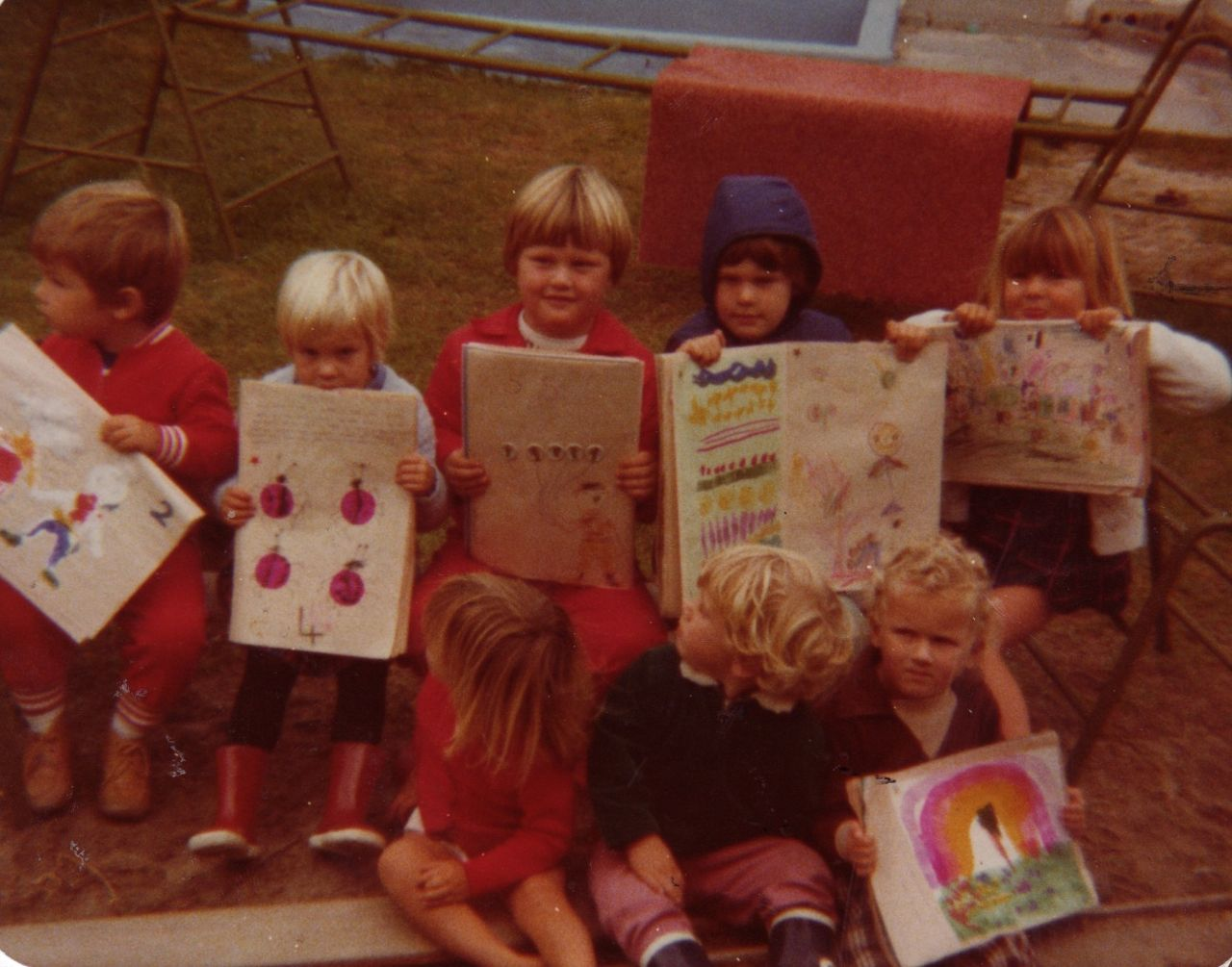 This was taken before I started going to school - at Play-Group. I'm the one on the far right.