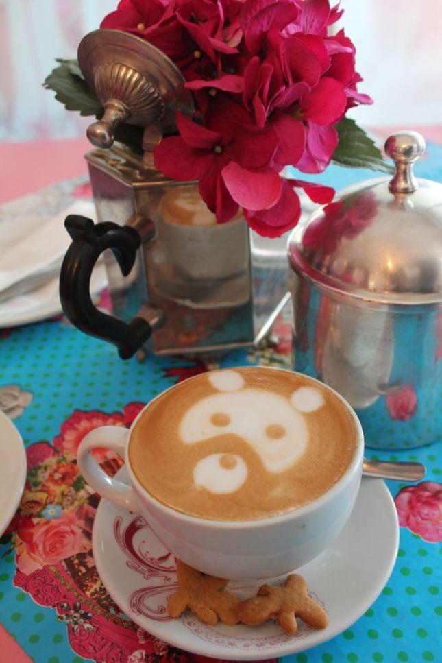 Panda Bear cappuccino...