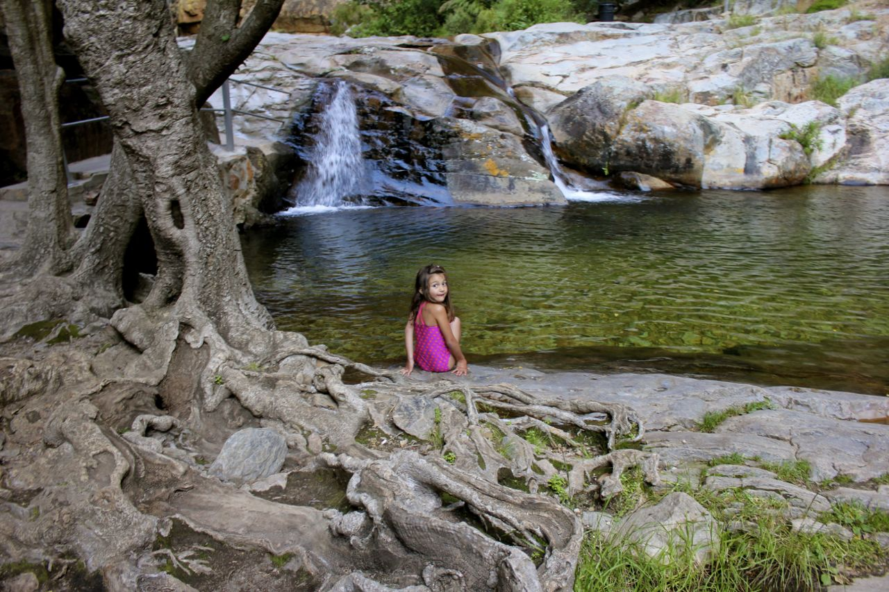 Waterfalls and natural pools... and especially if there's NOBODY else around...