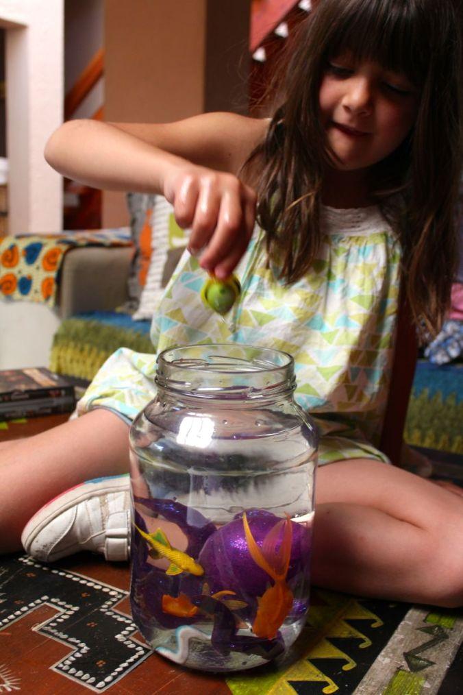 """Morgan's """"aquarium""""..."""