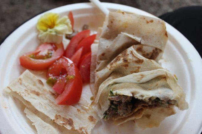 Yummy Lebanese lunch...