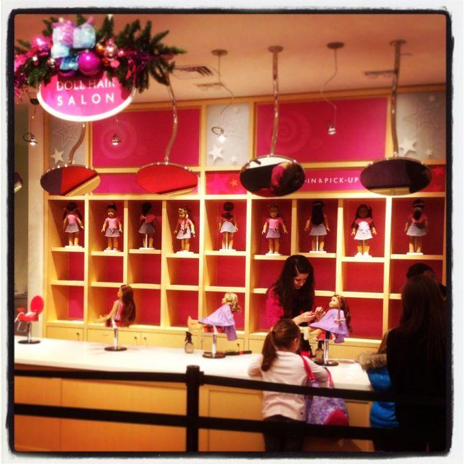 The Doll Hair Salon...
