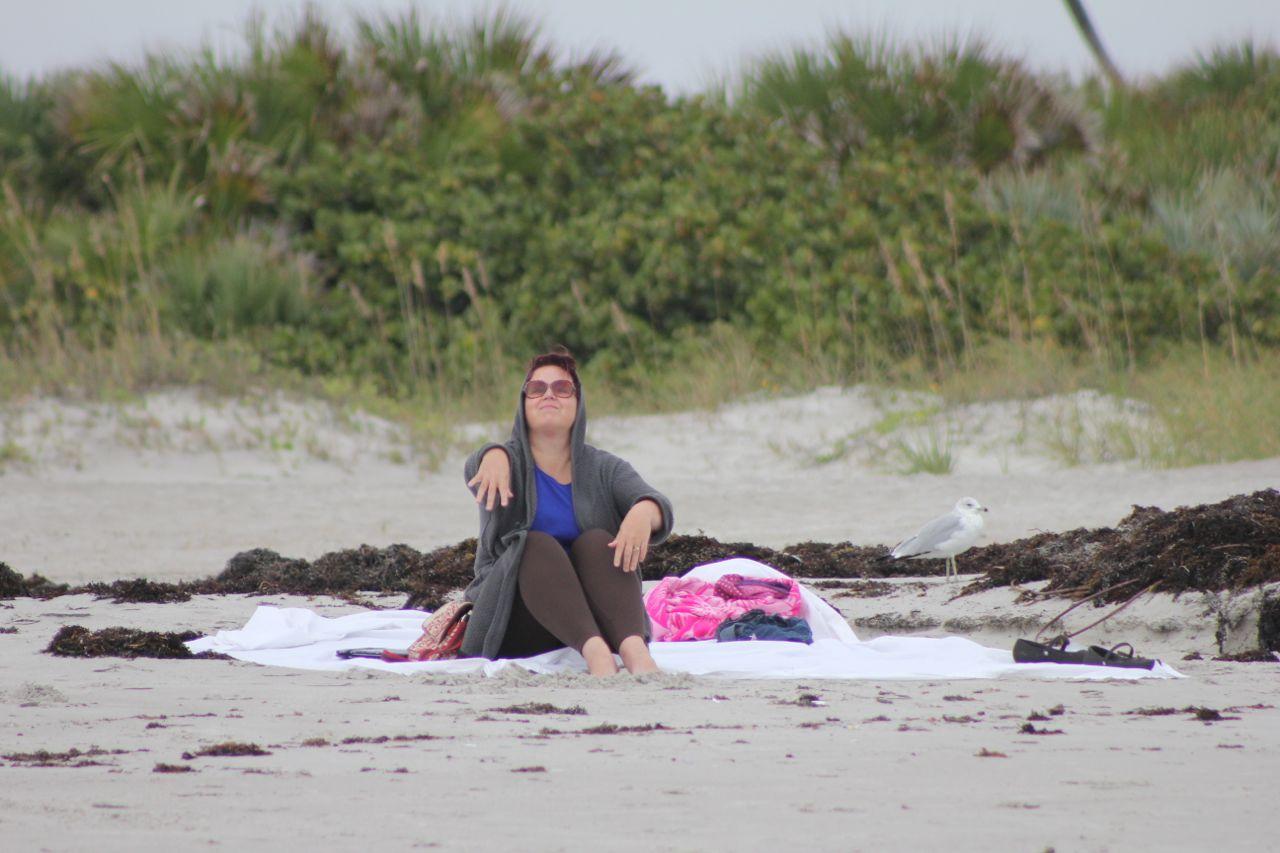 More beach time...