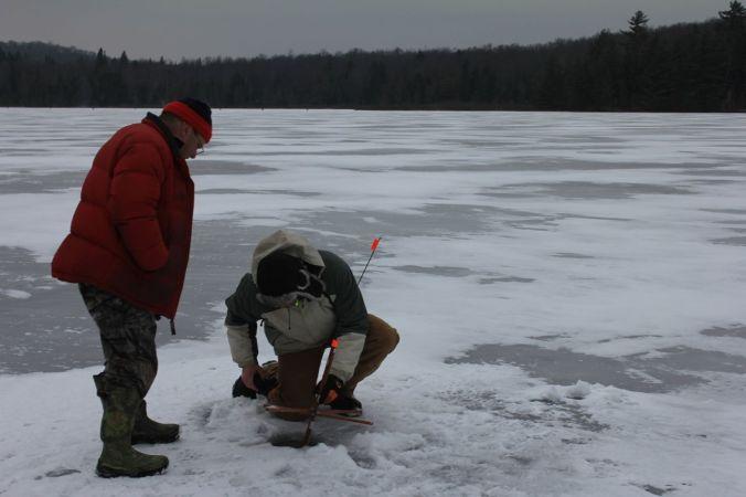 Ice-fishermen guys...