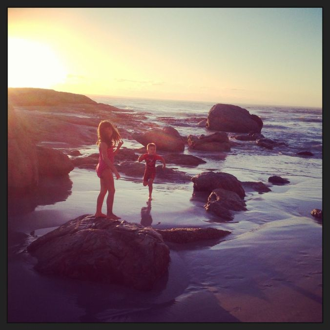 Our afternoon beach walks… it's my favourite time of day.