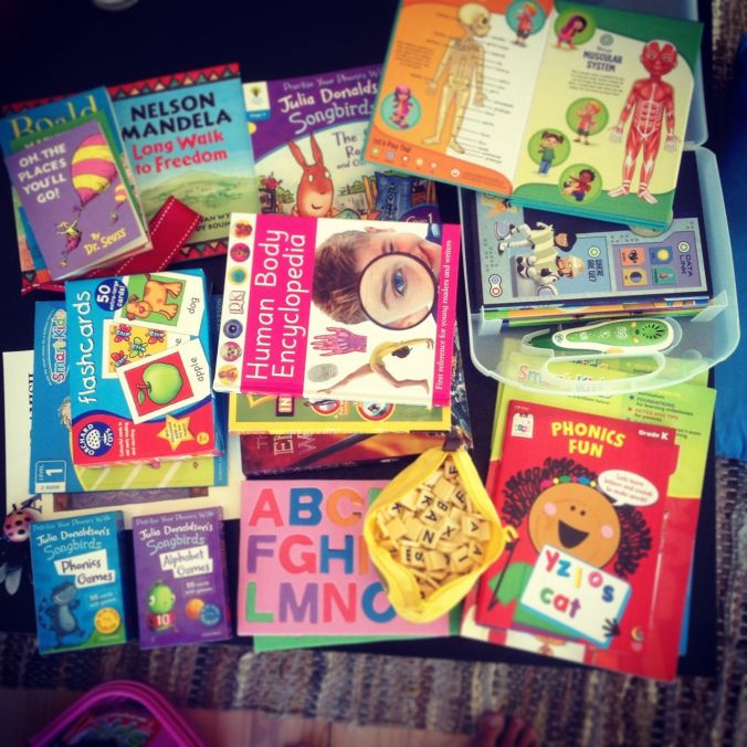 Some of our books & learning materials...