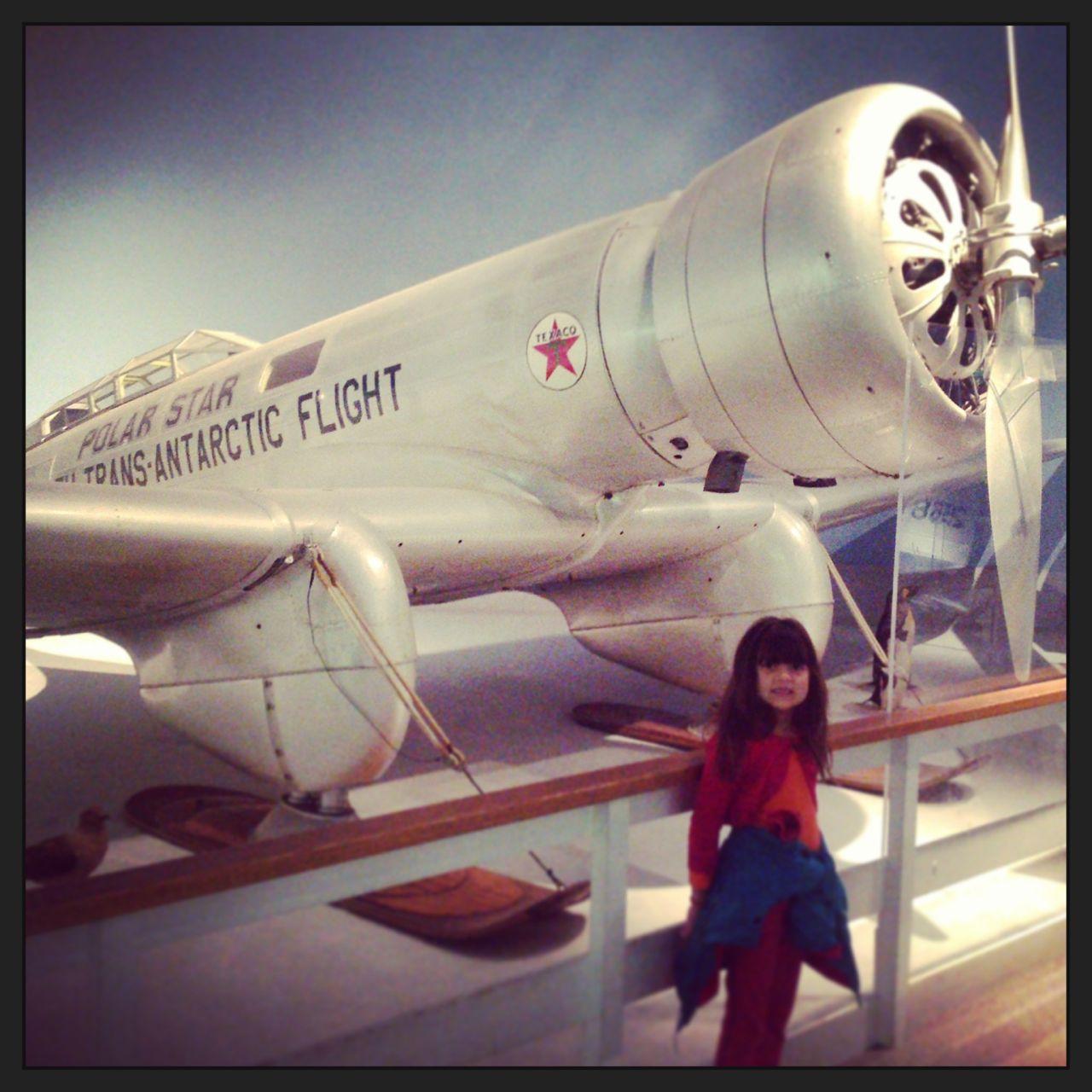 morgan and plane