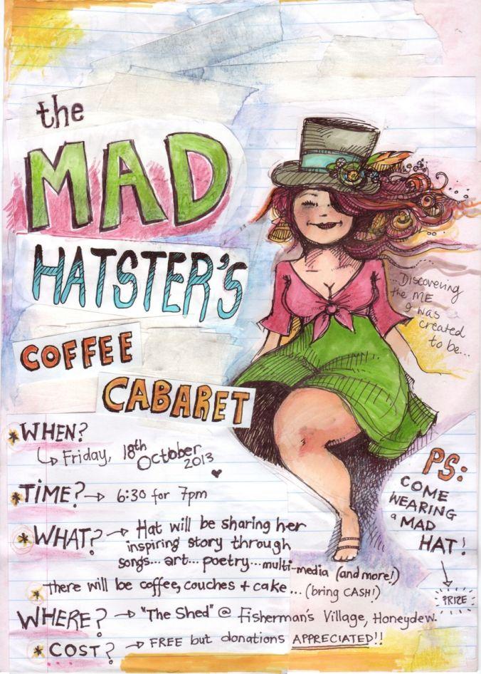 coffee cabaret poster