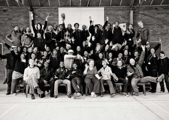 One of my projects - VENT! - working with 50 creative youth - mostly from the township of Zamdela in Sasolburg...