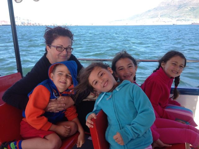 And they loved the boat tour, of course!