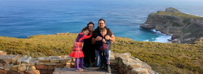 Our family - Cape Point - 2014