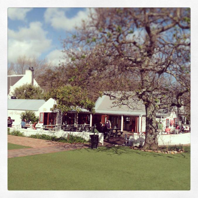 Cafe Roux in Noordhoek Village (many an hour spent slurping their coffee!)