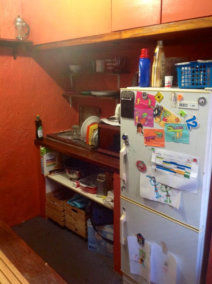 Our weeny-weeny kitchen...