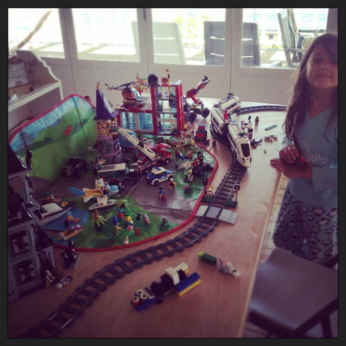 The Lego Movie Set (see videos below)...