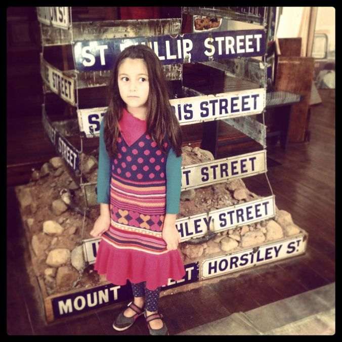 Sad stories at the District Six museum.  Morgan (especially) gets very serious in places like this.  She's very disturbed by the idea of apartheid.  She finds it hard to believe that this country used to be so segregated.