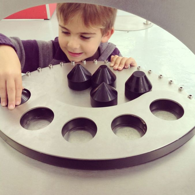 Experiments at the Science Museum...