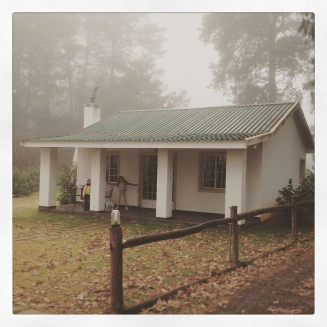 We stayed in this little cottage.