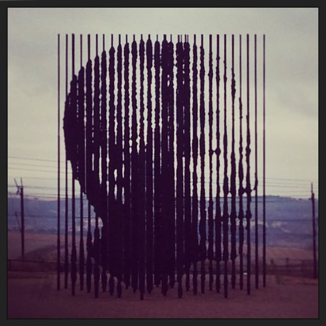 We revisited the awe-inspiring sculpture at the Nelson Mandela capture site (always a great history-lesson opportunity)...